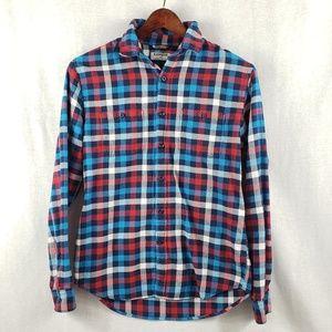 Express button down flannel shirt M